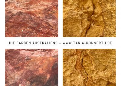 Farben Australiens