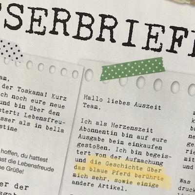 Leserbrief Tania Konnerth
